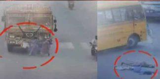 Two women die as road accident in hayathnagar