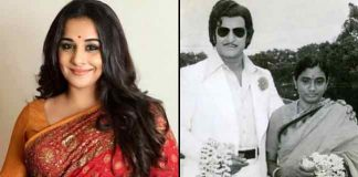 Vidya Balan attends NTR Biopic movie Shooting