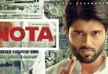 Vijay Devarakonda plays Chief Minister role in Nota Movie