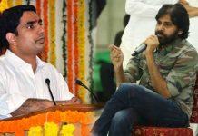 janasena pawan kalyan comments on nara lokesh and chandrababu