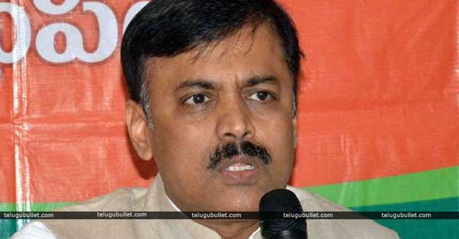 BJP MP GVL fight with tdp