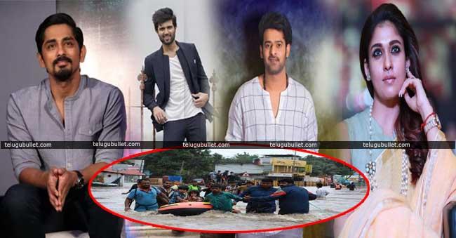 Film stars help for Kerala