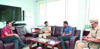 Mahesh Met The Telangana State Police Academy