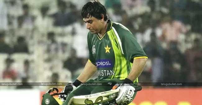 Pakistan cricketer Nasir Jamshed