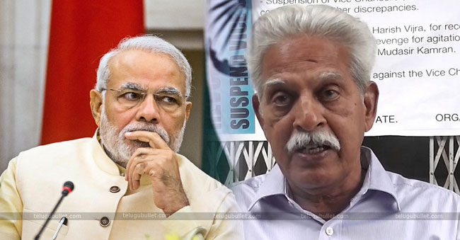 Varavara Rao And Modi