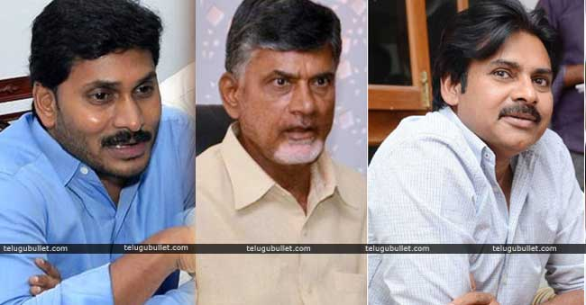 chandrababu and jagan and pawan
