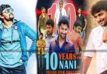 Nani on completing ten years as an actor, turning producer