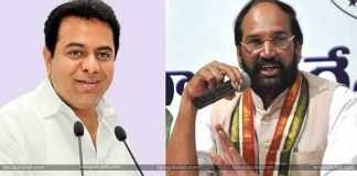 ktr twitter comments on uttam kumar reddy