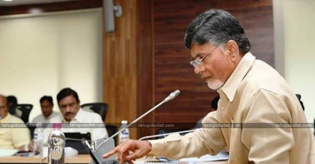 Chandrababu discussing Babri case with ministers
