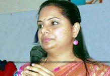 MP Kavitha Supporting AP CM Chandrababu Naidu