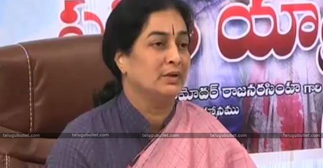 Ex Dupuy CM Damodar Raja Narasimha Wife Padmini Reddy Joins In BJP