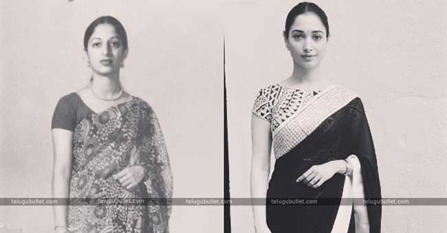 tamanna talks about her mother