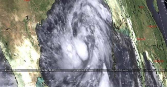 Red Alert In Srikakulam Due To Cyclone Titli