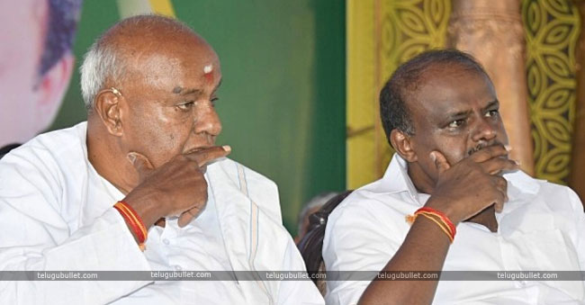 Deve Gowda And KUMARASWAMY