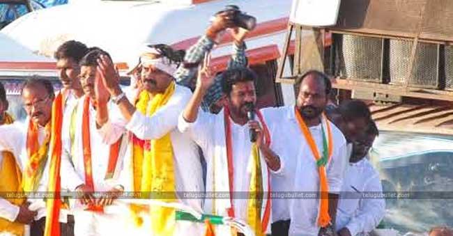 revanth reddy campaign in kondakal