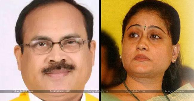 tdp leader peddireddy And Vijayasanthi