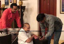 Balayya Personally Invites Superstar