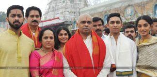 CM Ramesh Visits Tirumala