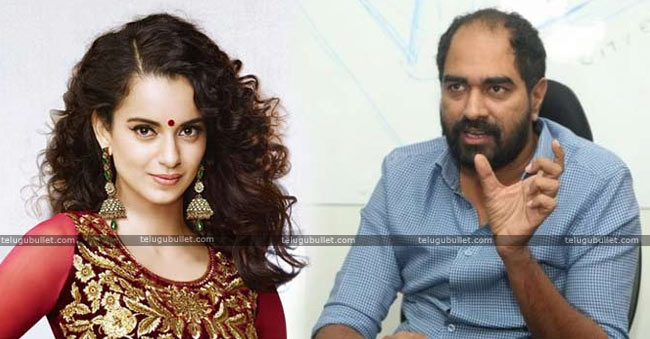 Tollywood Director Krish Breaks His Silence About Kangana Ranaut