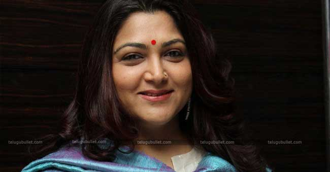 kushboo talks about producer for moo to