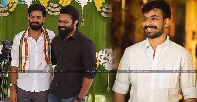 Sai Dharam Tej Brother Vaishnav Tej Debut Film Launched Today