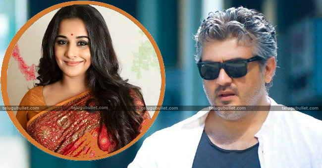 Tamil Remake Of Pink Vidya Balan Joins Ajith