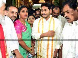 YS Jagan In Tirupati For Darshan At Tirumala Shrine