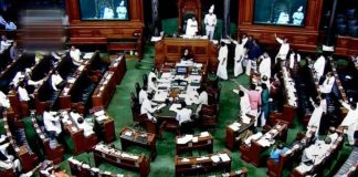 Suspension of the Lok Sabha on the Opposition