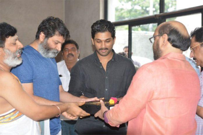 allu arjun started dubbing for his movie
