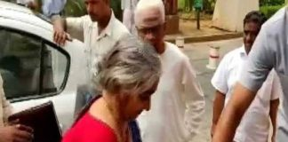 nirmala seetharaman parents in parliament