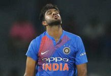 Vijay shankar out from world cup