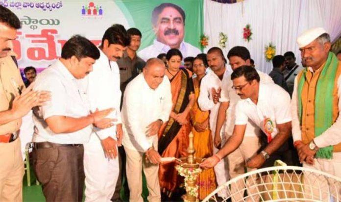 minister inaugurates mega job mela