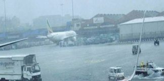 aeroplanes cancelled due to rain