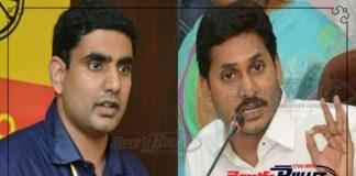 nara lokesh said thanks to jagan