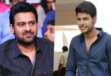 sandeep kishan purchased cinema ticket for prabhas