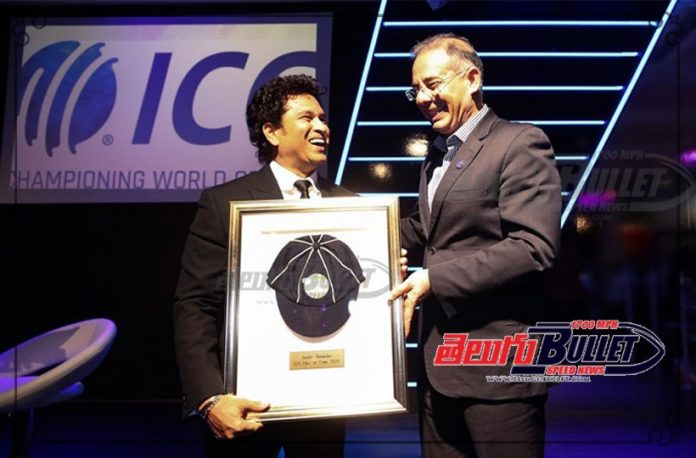sachin tendulkar inducted in icc hall of fame