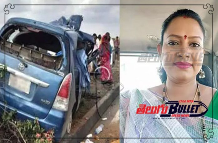 kannada tv actress died in road accident
