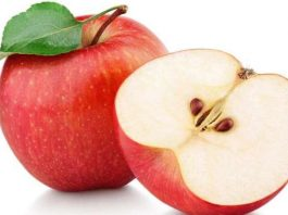 100 million bacteria in one apple!