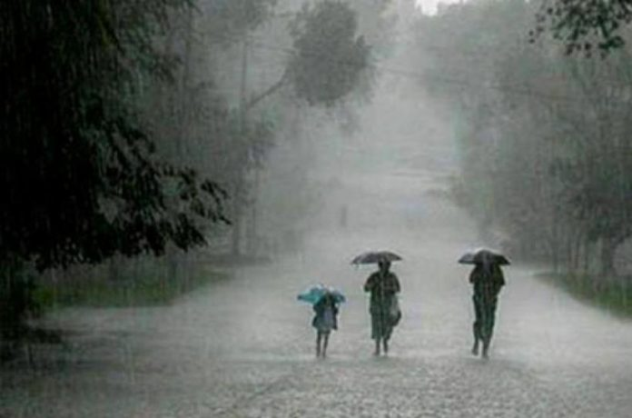 Heavy rains in Telugu states for two days