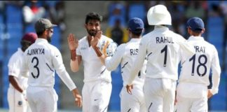 Team India grand victory in first test