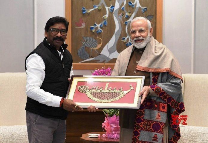 జార్ఖండ్ ముఖ్యమంత్రి హేమంత్ సోరెన్ ప్రధాని నరేంద్ర మోదీతో భేటీ